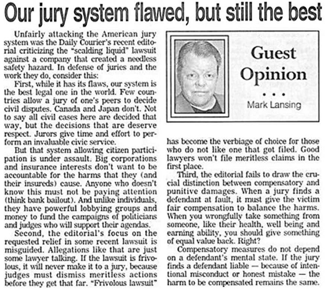 jury system should be abolished It has been proposed that the federal civil jury system be abolished in order to clean up the backlog of cases, keep court calendars current, and obtain better and more efficient administration of justice.